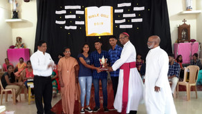Rosary Church Ajara wins Diocesan Bible Quiz 2019