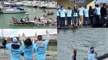 Cartes sur tables  sponsor des joutes Nautiques de la Rochelle (Photos)