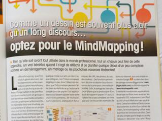 Les logiciels de Mind mapping « à la une » du magazine Vous et Votre Mac d'avril 2014