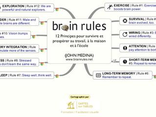 """Téléchargez la map du livre """"Brain Rules"""" de John Medina (Ressource)"""