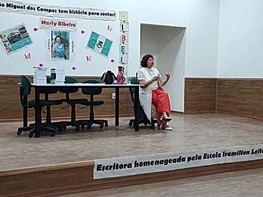 SÃO MIGUEL DOS CAMPOS, ESCOLA IRAMILTON LEITE E MARLY RIBEIRO TEM HISTÓRIAS PARA CONTAR