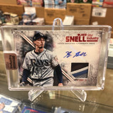 Blake Snell 1/1 Auto Patch