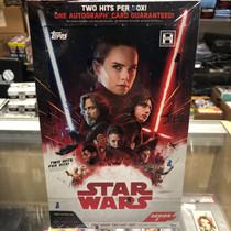 STAR WARS LAST JEDI HOBBY BOX