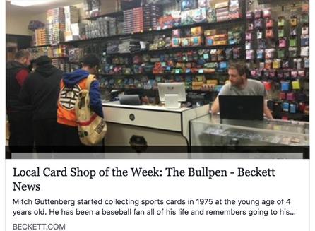 Beckett features The Bullpen!