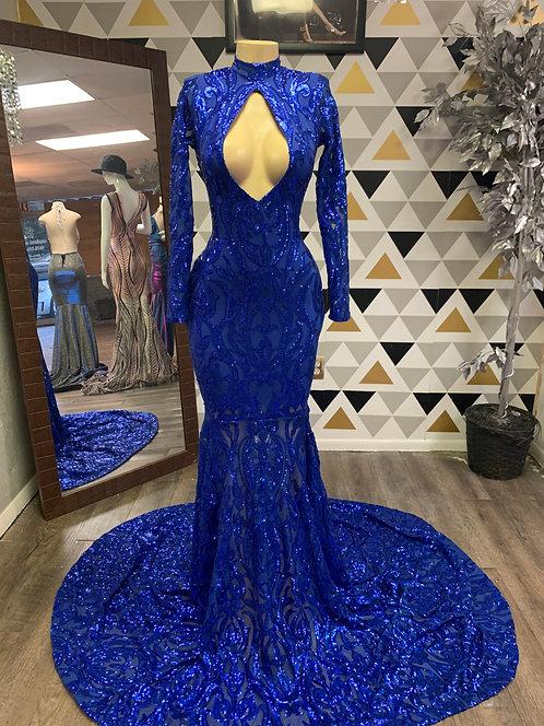 Bella gown (blue)