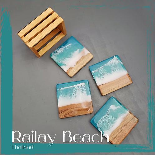 Railay Beach Coasters