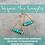 Thumbnail: Turquoise Mini Triangles