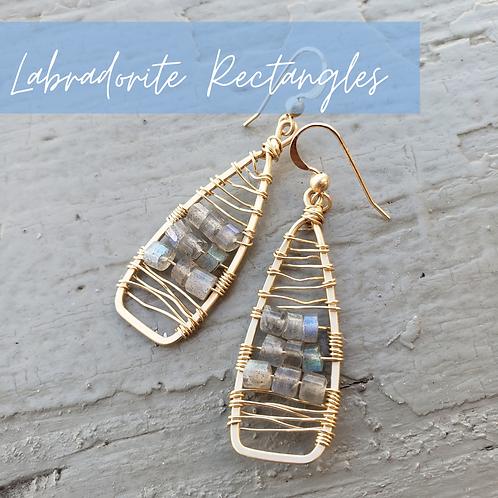 Labradorite Rectangles