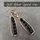 Thumbnail: Gold Black Spinel Vase