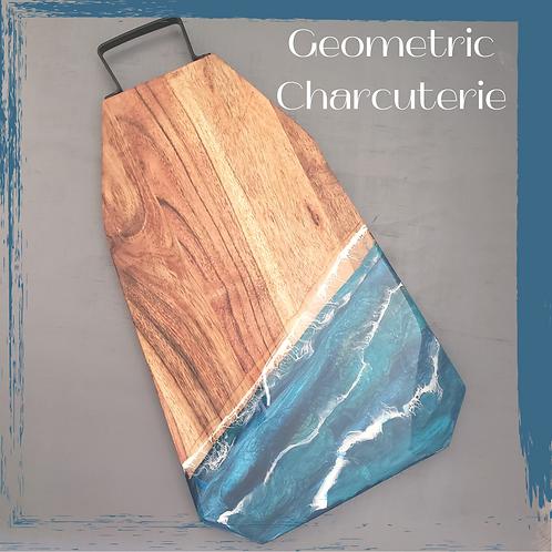 Geometric Charcuterie Board