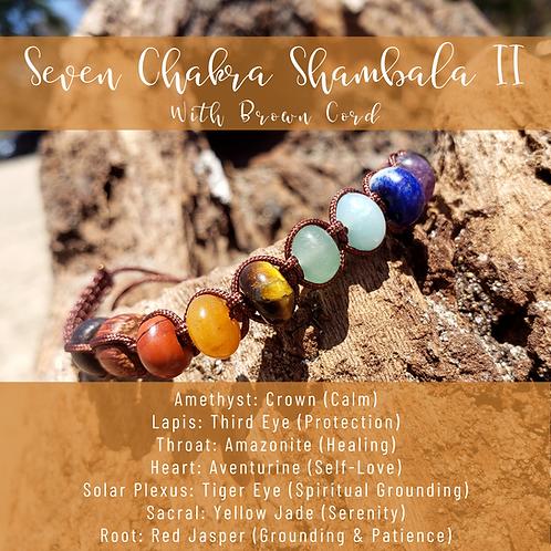 Seven Chakra Rondelle Shamballa II
