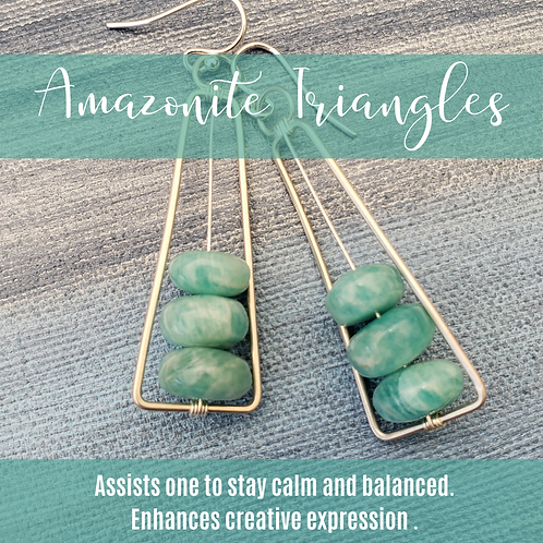 Amazonite Triangles