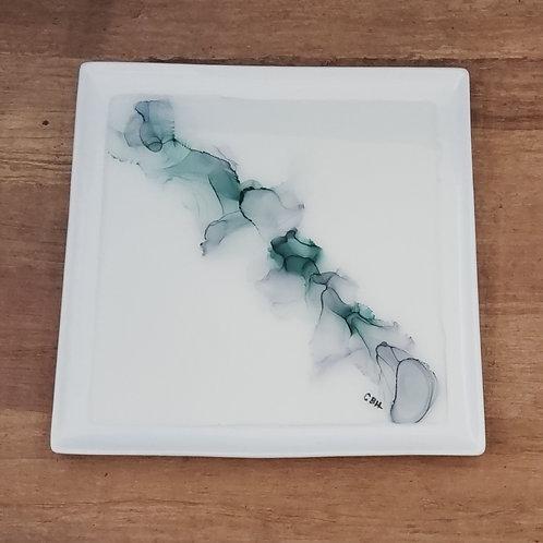 Green & Gray Platter