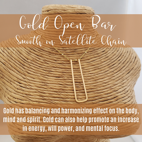Gold Open Bar on Gold Satellite Chain