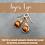 Thumbnail: Tiger Eye Herringbone Drops
