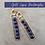 Thumbnail: Gold Lapis Lazuli Rectangles