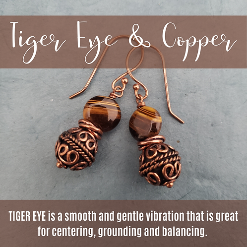 Tiger Eye & Copper