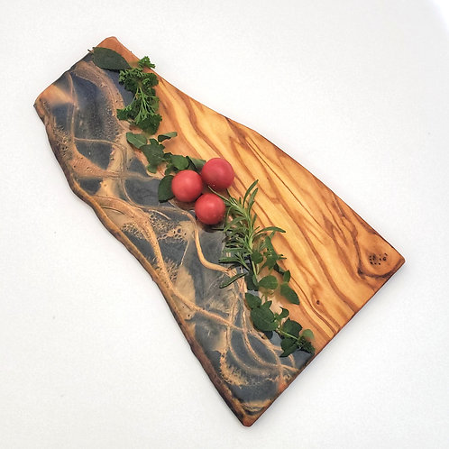 Thin Olivewood Serving Board