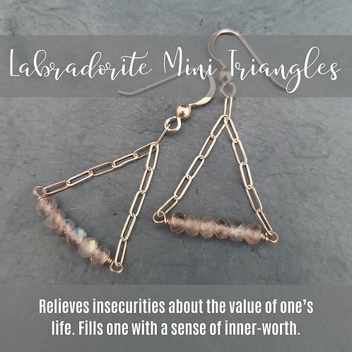 Labradorite Mini Triangles