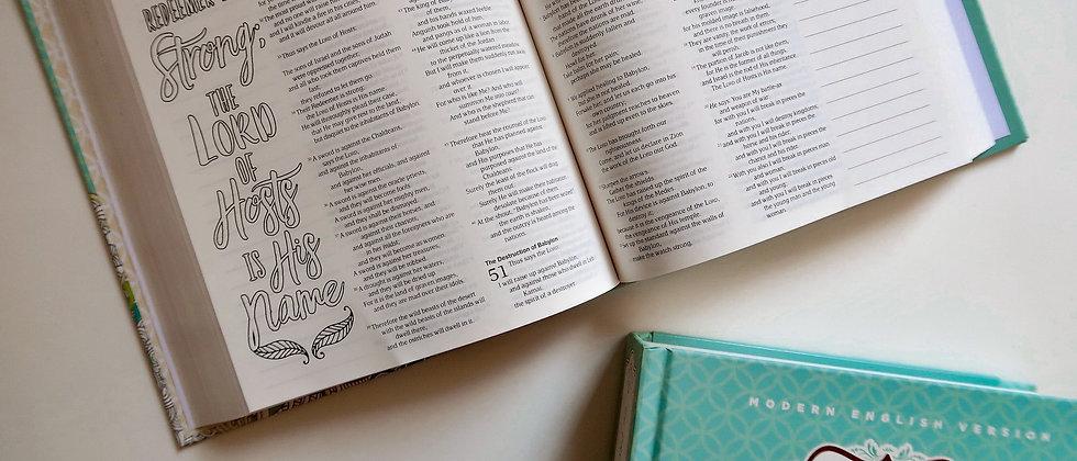 Creative Bible Journal