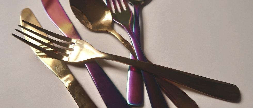 """Whimsical Bite"" Cutlery Set"