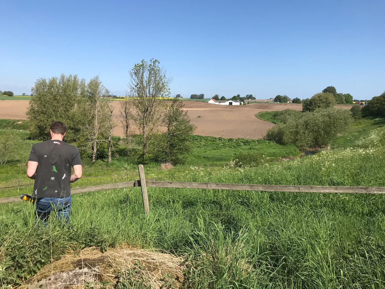 Fältarbete i Järrestad