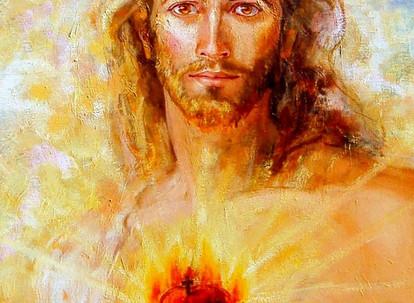 Oramos con el Corazón de Cristo
