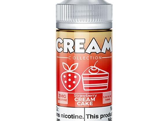 Cream Strawberry Cake