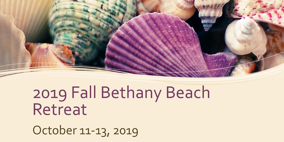 2019 Bethany Beach Fall Retreat