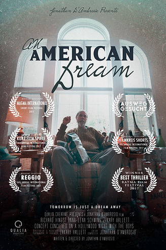 An American Dream Poster REDUX with laur