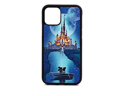 Disney castle moon phone case