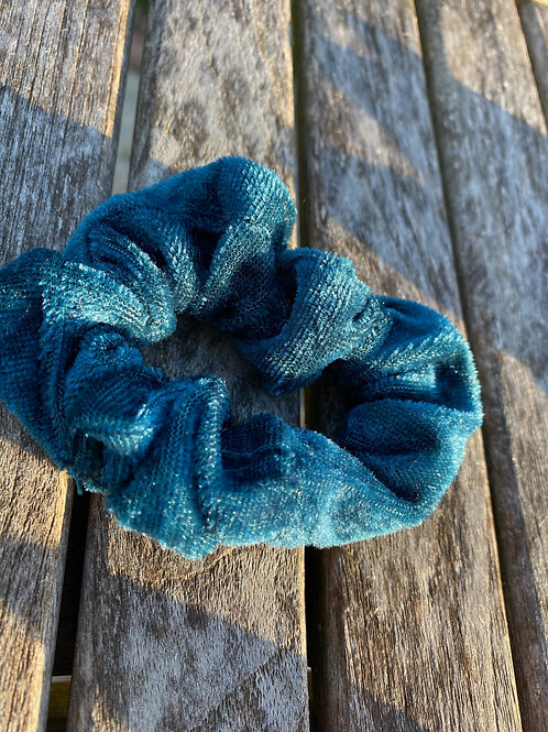 pacific ocean  scrunchie