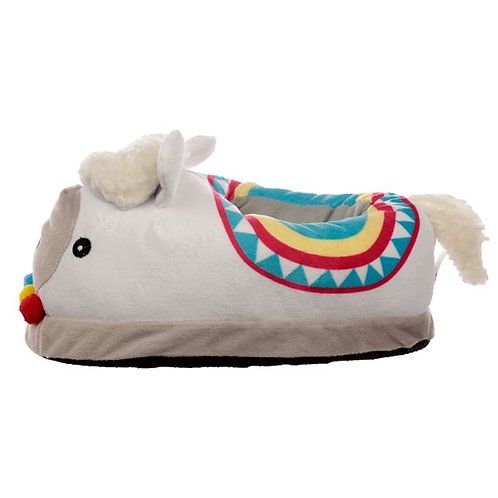 llama cushioned slippers