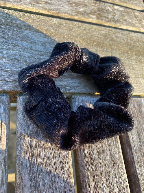 charcoal scrunchie