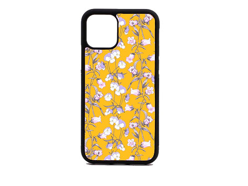 yellow flower phone case