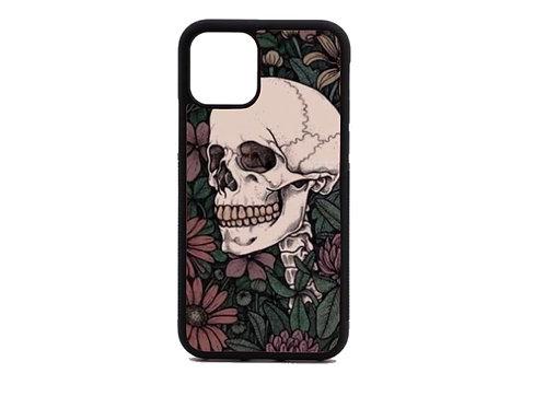vintage skull phone case