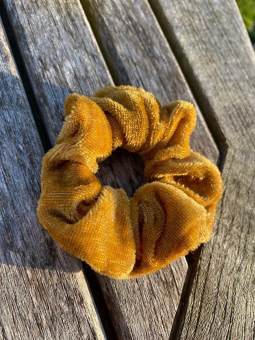 salted caramel scrunchie