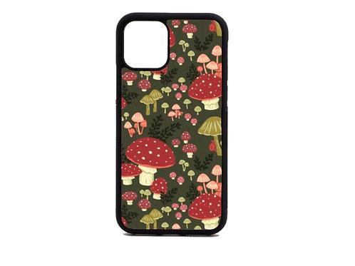 red mushroom phone case