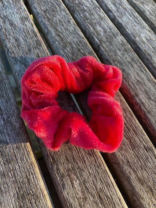 raspberry punch  scrunchie