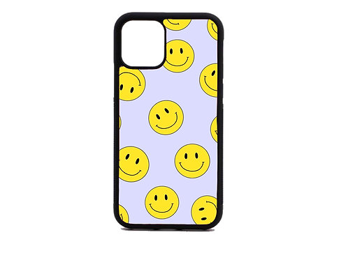 yellow smiley face phone case
