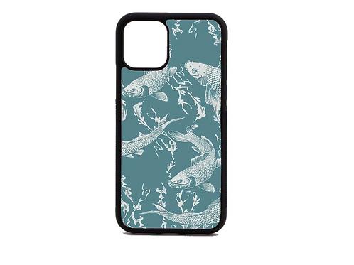 turquoise fish phone case