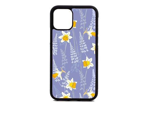 purple daffodil phone case