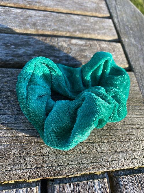 Sea foam green scrunchie