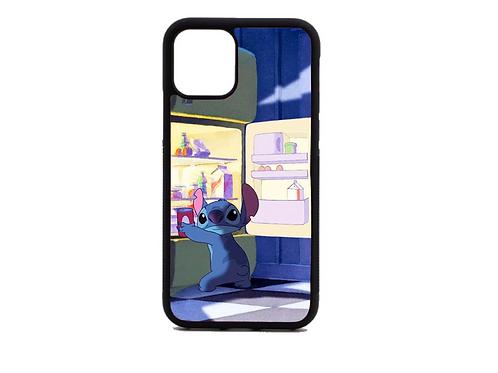 Stitch Funny Phone case (black)