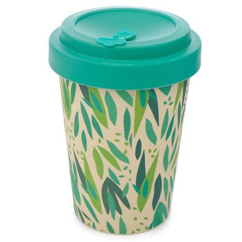 reusable leaf decor cup