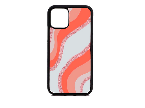 salmon strip phone case
