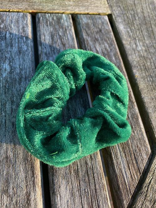 emerald  scrunchie