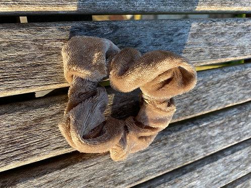 chestnut  scrunchie