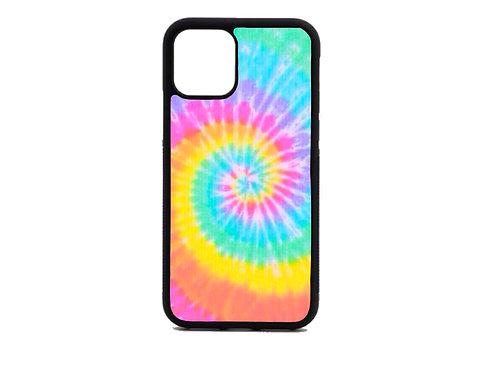 tie dye swirl phone case