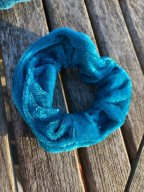 Blue Berry scrunchie
